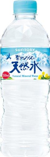 サントリー 天然水(南アルプス) 550ml ×24本 サント...