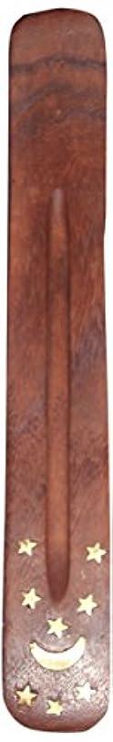 探偵電化する彼らのIncense Burner ~ Traditional Incense Holder with Inlaid Design ~ Approx 10 Inches, Variety of Designs by Incense...