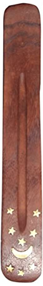 ゼロプリーツヘロインIncense Burner ~ Traditional Incense Holder with Inlaid Design ~ Approx 10 Inches, Variety of Designs by Incense...