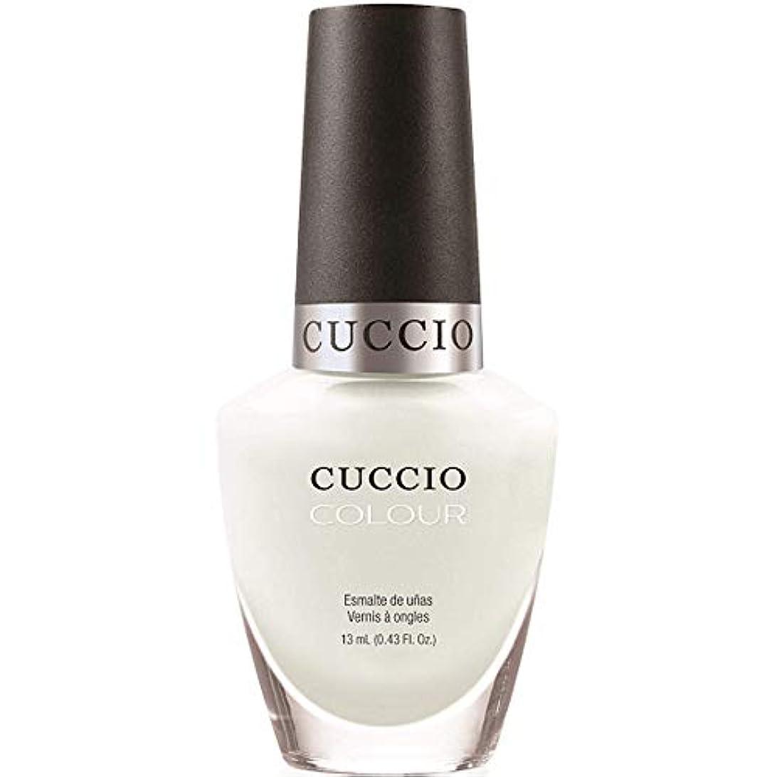 関数回転させるささやきCuccio Colour Gloss Lacquer - White Russian - 0.43oz / 13ml