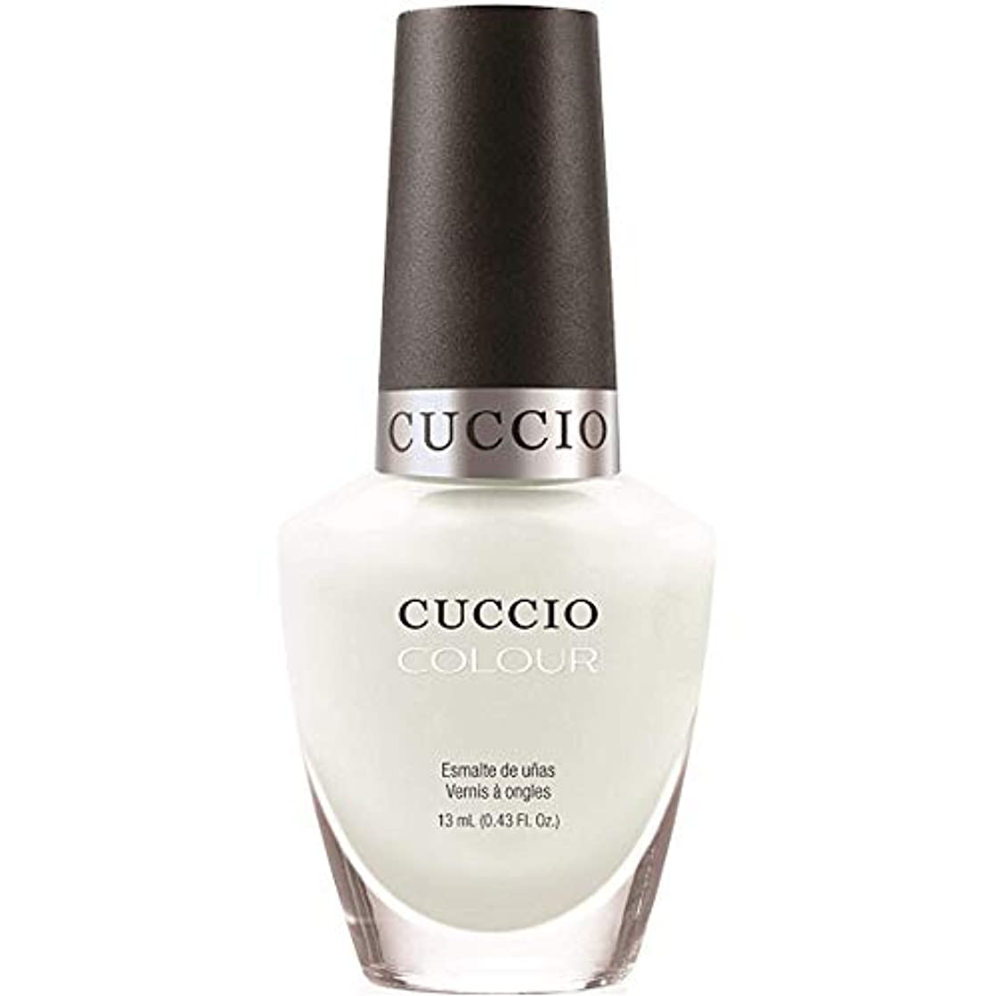 守銭奴アクロバット難民Cuccio Colour Gloss Lacquer - White Russian - 0.43oz / 13ml