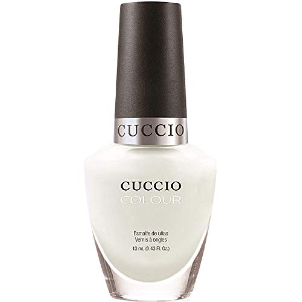 選択する突然の機関車Cuccio Colour Gloss Lacquer - White Russian - 0.43oz / 13ml