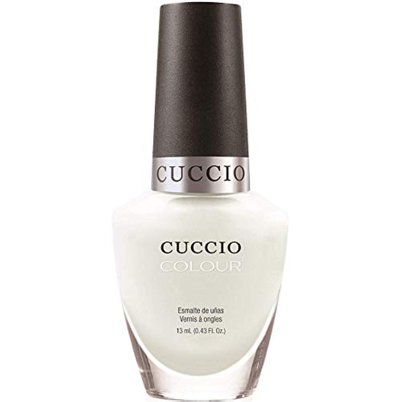黒士気それに応じてCuccio Colour Gloss Lacquer - White Russian - 0.43oz / 13ml