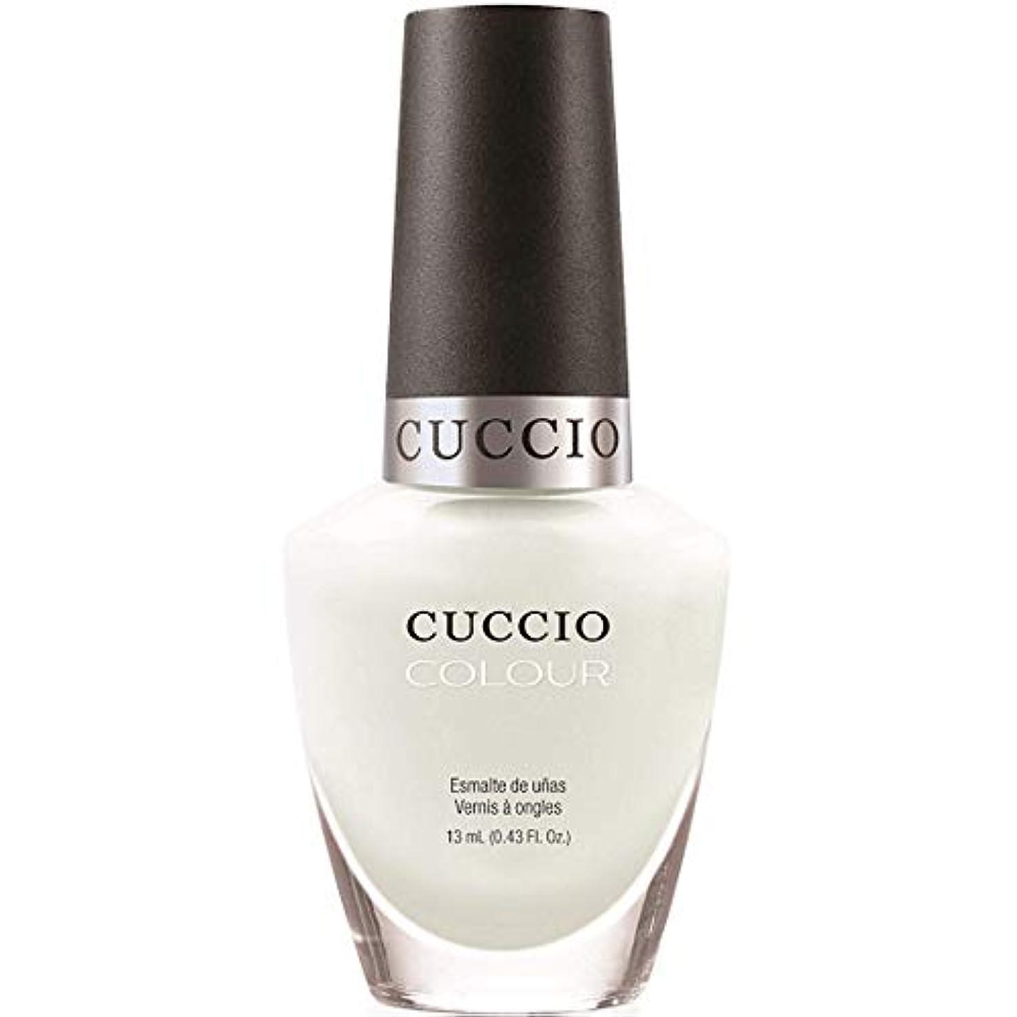 ゴミ箱露出度の高い胴体Cuccio Colour Gloss Lacquer - White Russian - 0.43oz / 13ml