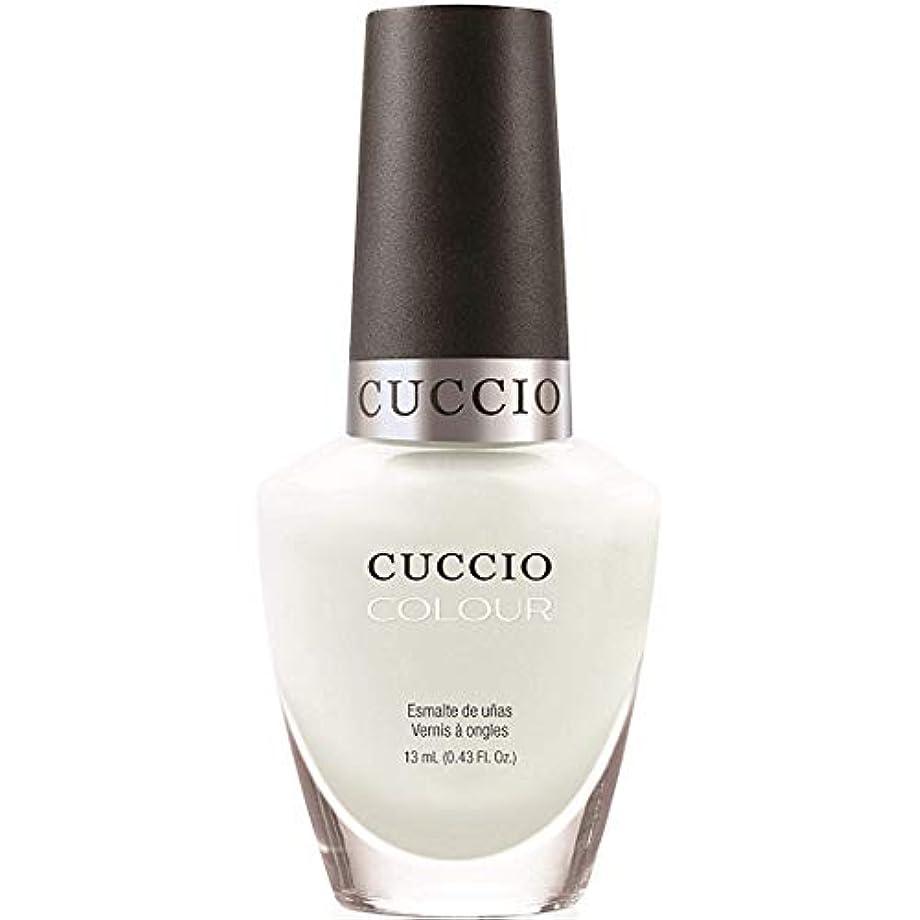 舌敵対的調停者Cuccio Colour Gloss Lacquer - White Russian - 0.43oz / 13ml