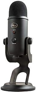 Blue Microphones Yeti USB コンデンサー マイク Blackout Edition イエティ ブラック BM400BK 国内正規品 2年間メーカー保証