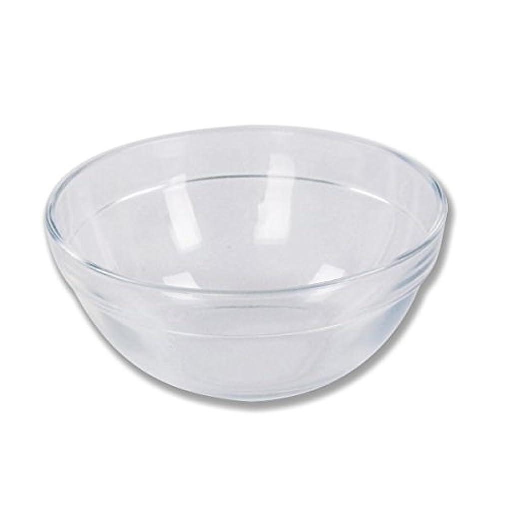 ガラスボウル (XLサイズ) [ ガラスボール カップボウル カップボール エステ サロン ガラス ボウル カップ 高級感 ]