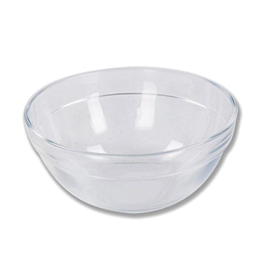 同一性地区葉ガラスボウル (XLサイズ) [ ガラスボール カップボウル カップボール エステ サロン ガラス ボウル カップ 高級感 ]
