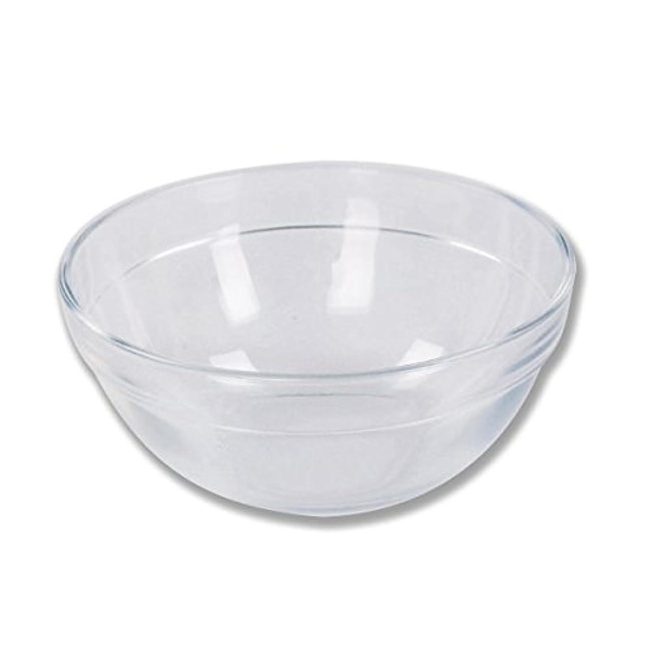 そこからくぼみ中ガラスボウル (XLサイズ) [ ガラスボール カップボウル カップボール エステ サロン ガラス ボウル カップ 高級感 ]