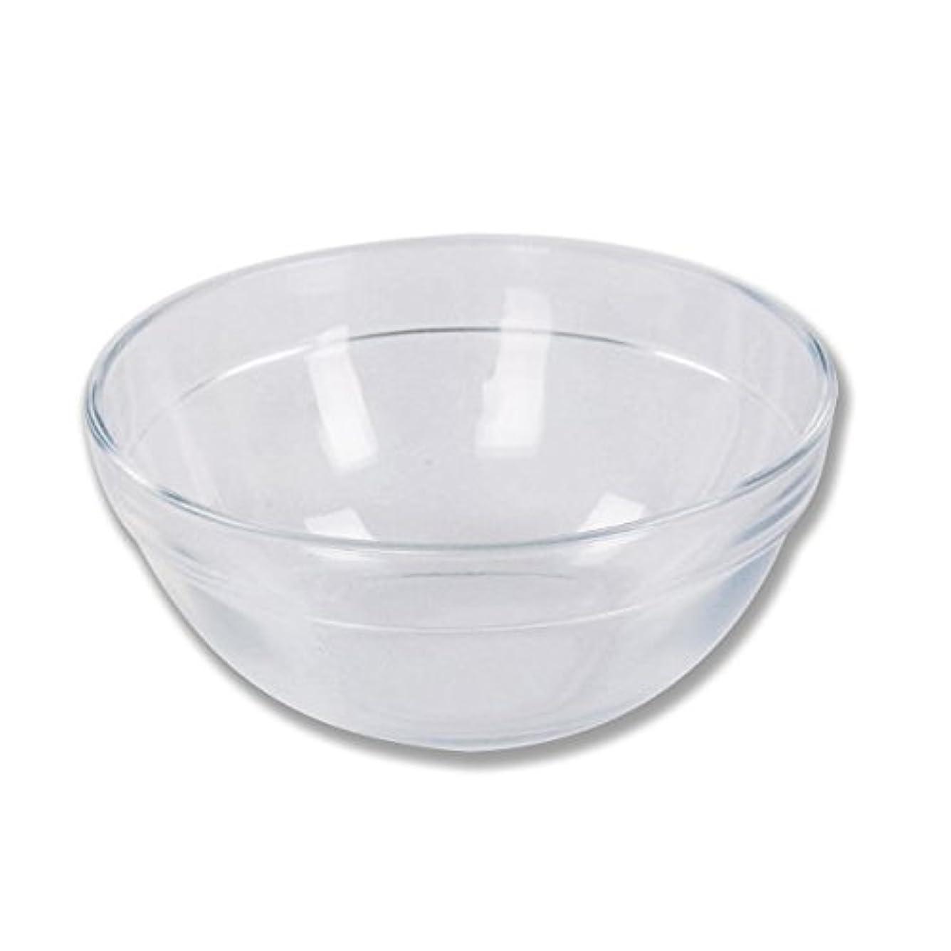 ほとんどの場合パーティション折ガラスボウル (XLサイズ) [ ガラスボール カップボウル カップボール エステ サロン ガラス ボウル カップ 高級感 ]