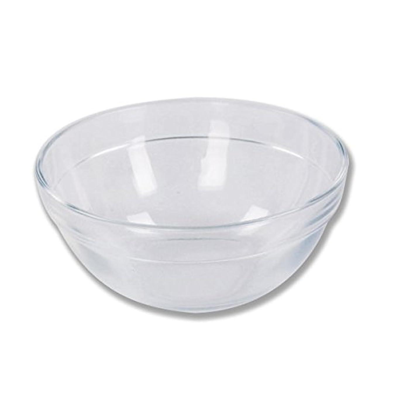 魅惑するスカープ同一のガラスボウル (Mサイズ) [ ガラスボール カップボウル カップボール エステ サロン ガラス ボウル カップ 高級感 ]