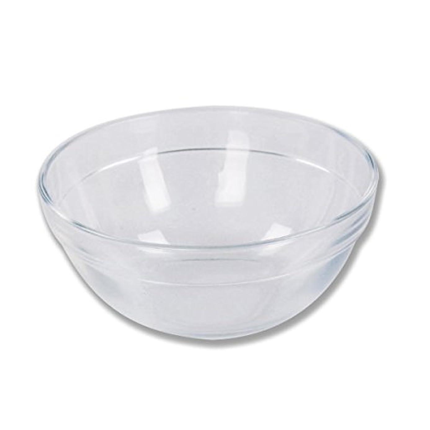 コンプリートハム簡潔なガラスボウル (SSサイズ) [ ガラスボール カップボウル カップボール エステ サロン ガラス ボウル カップ 高級感 ]