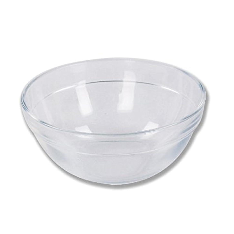 透けて見える正気ガラスガラスボウル (Mサイズ) [ ガラスボール カップボウル カップボール エステ サロン ガラス ボウル カップ 高級感 ]