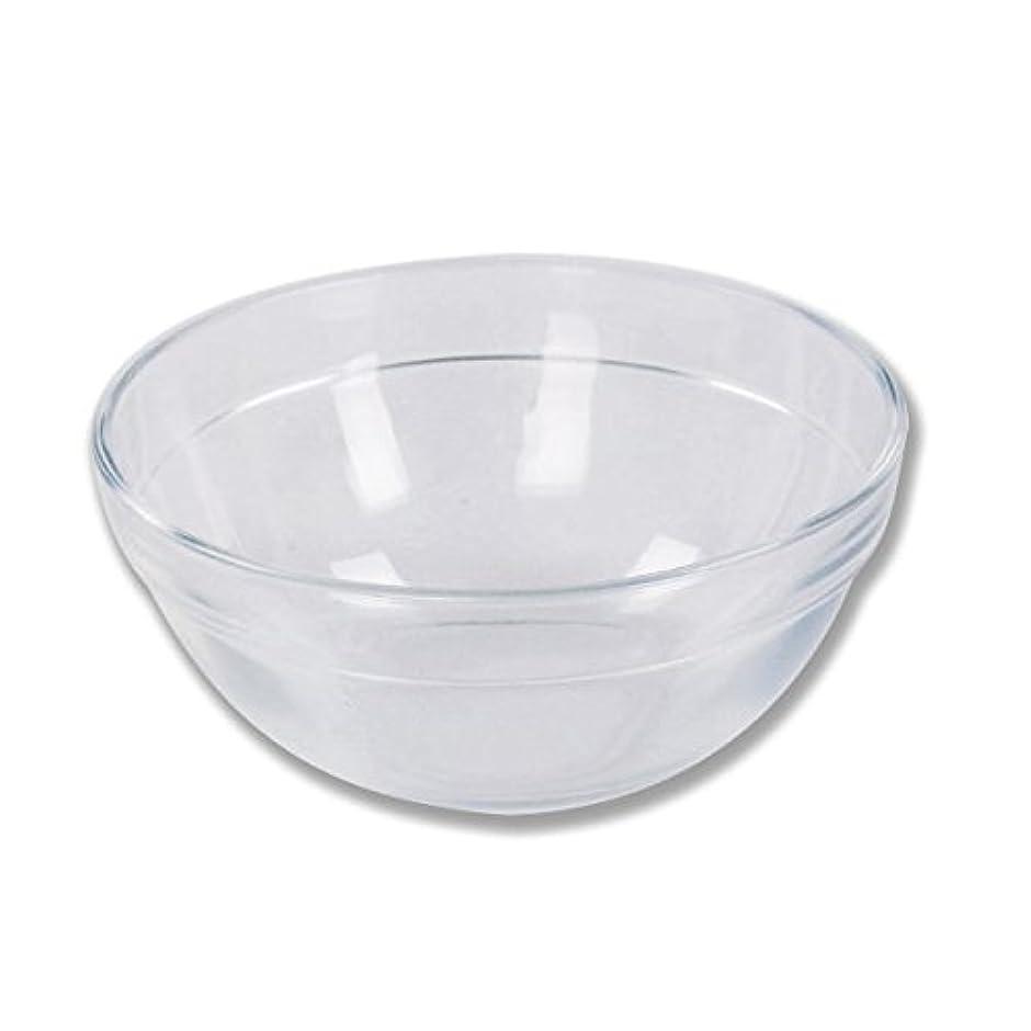 ガラスボウル (Sサイズ) [ ガラスボール カップボウル カップボール エステ サロン ガラス ボウル カップ 高級感 ]