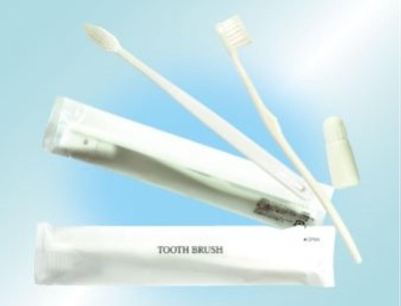 心理学共役かけがえのない歯ブラシセット 3gチューブ 300本 (白)