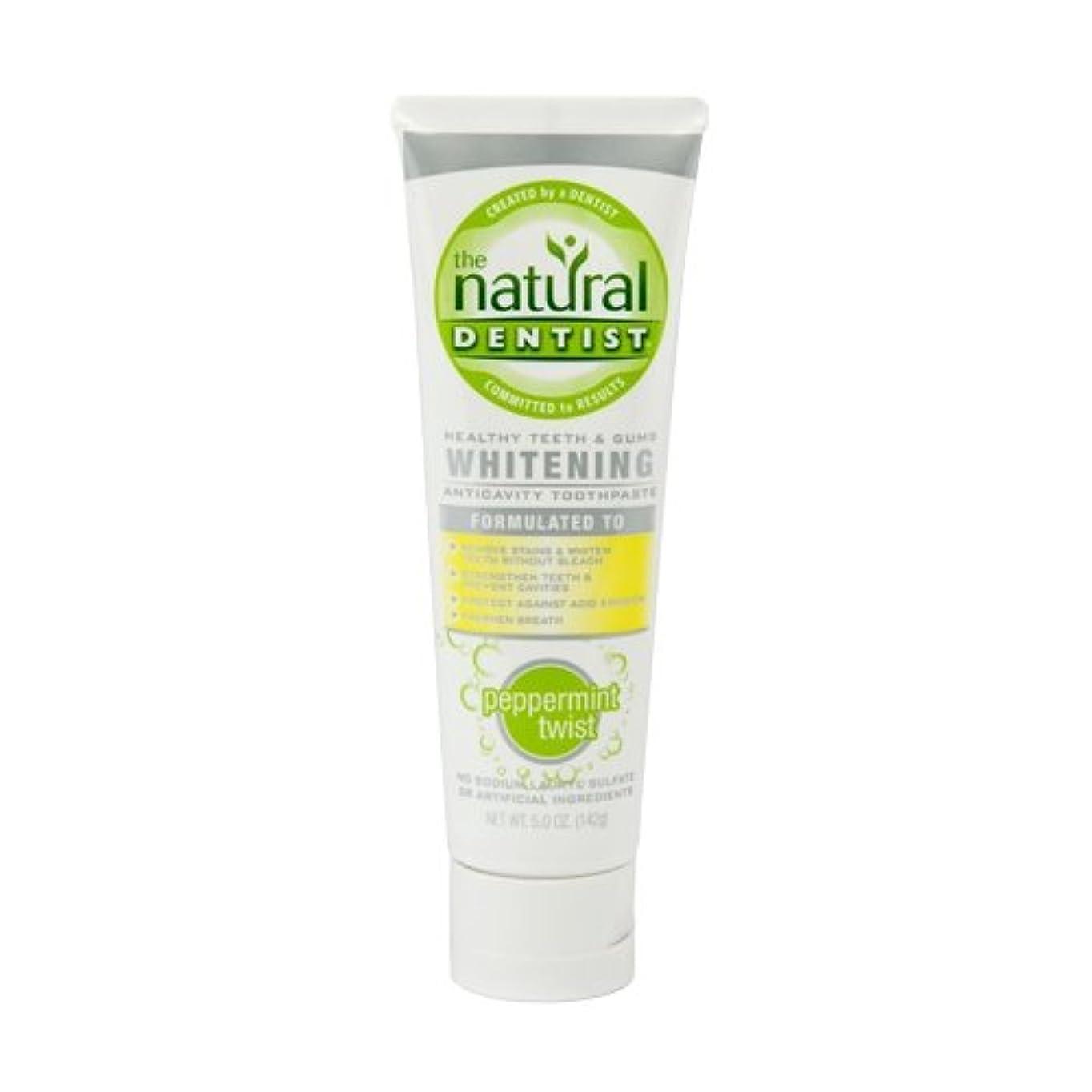 海外直送肘 Toothpaste Whitening Peppermint Twist, Whitening Peppermint Twist , 5 oz