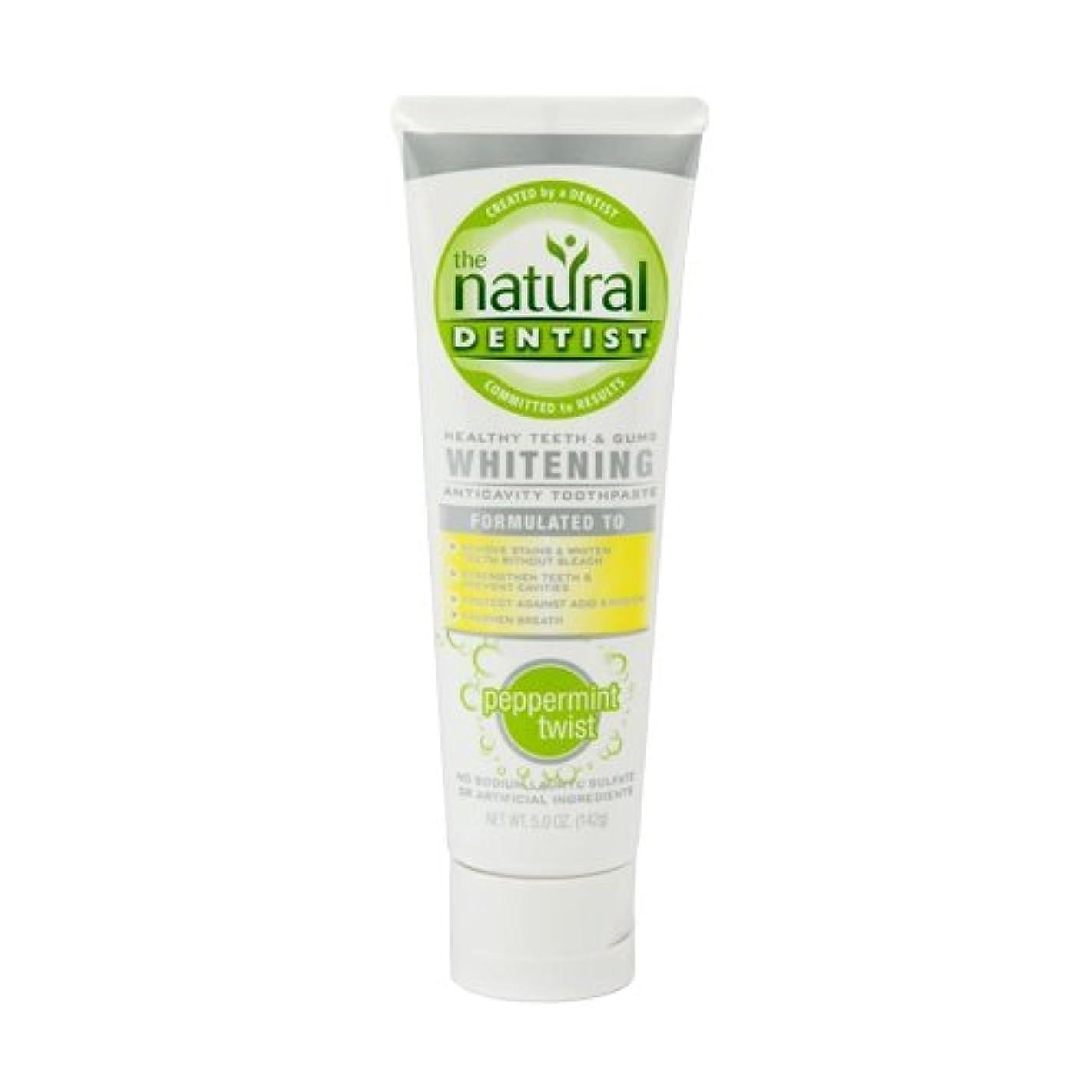 枯渇する強化する補充海外直送肘 Toothpaste Whitening Peppermint Twist, Whitening Peppermint Twist , 5 oz