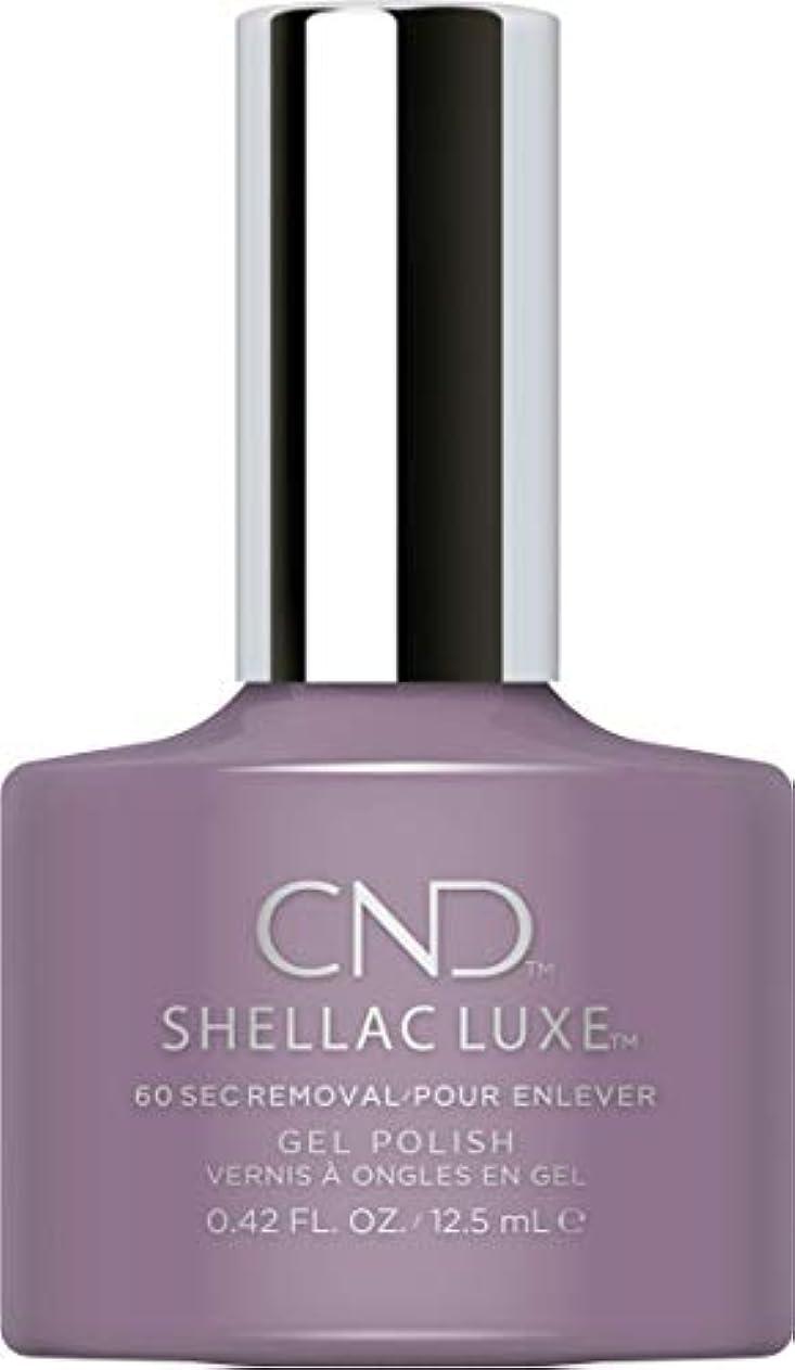キャビン評決きゅうりCND Shellac Luxe - Alpine Plum - 12.5 ml / 0.42 oz