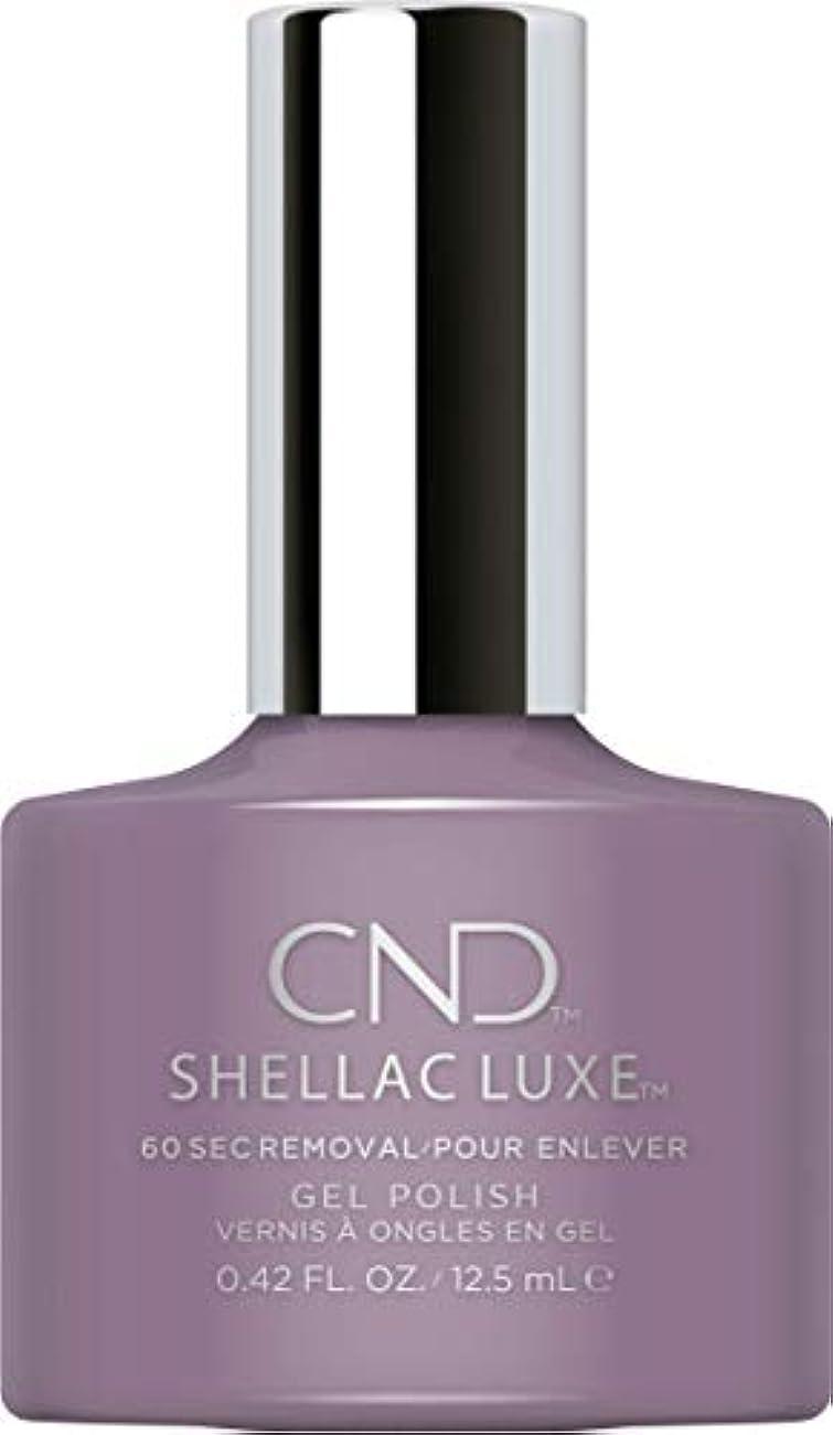 彼らは衝突する心からCND Shellac Luxe - Alpine Plum - 12.5 ml / 0.42 oz