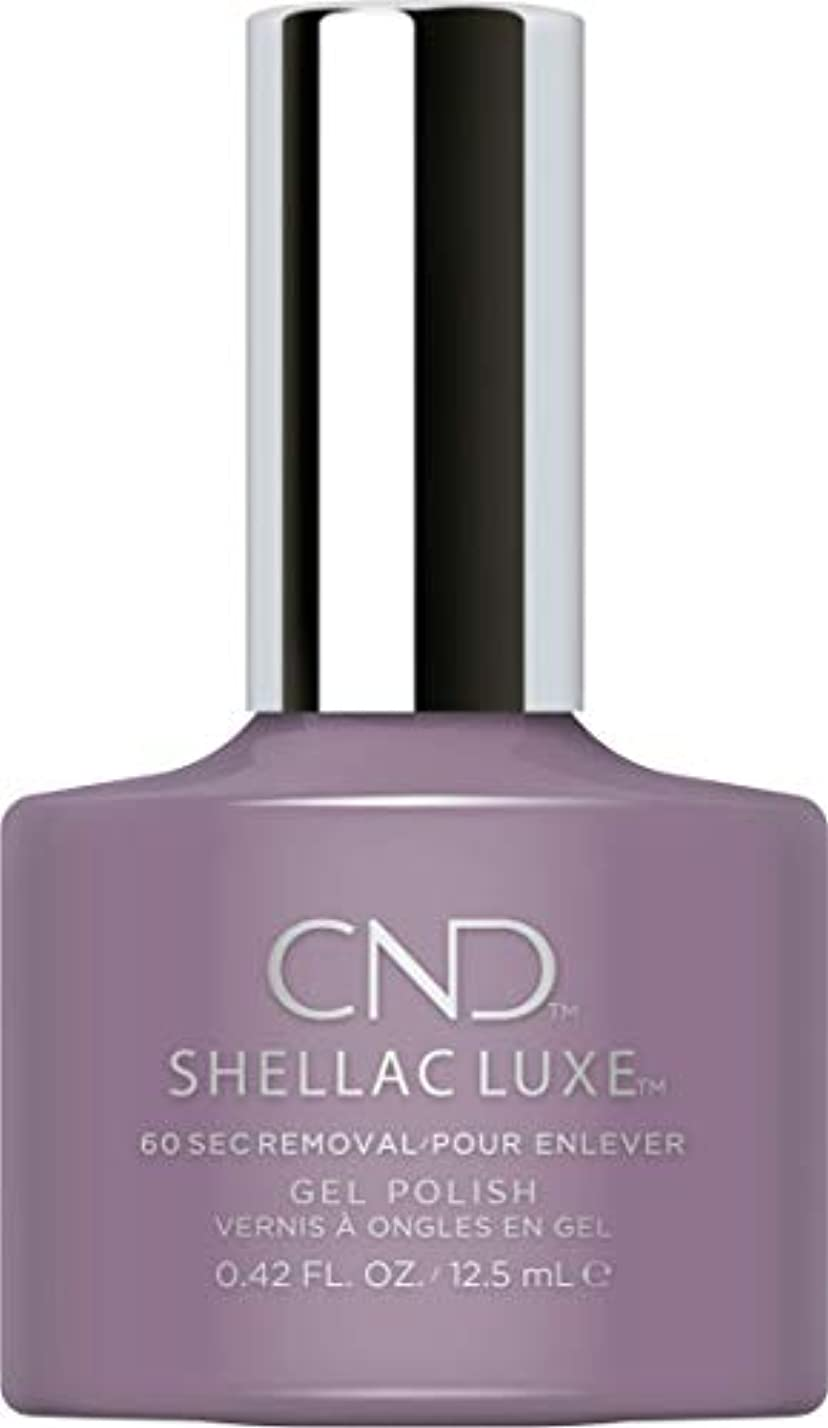 飾る憲法細断CND Shellac Luxe - Alpine Plum - 12.5 ml / 0.42 oz