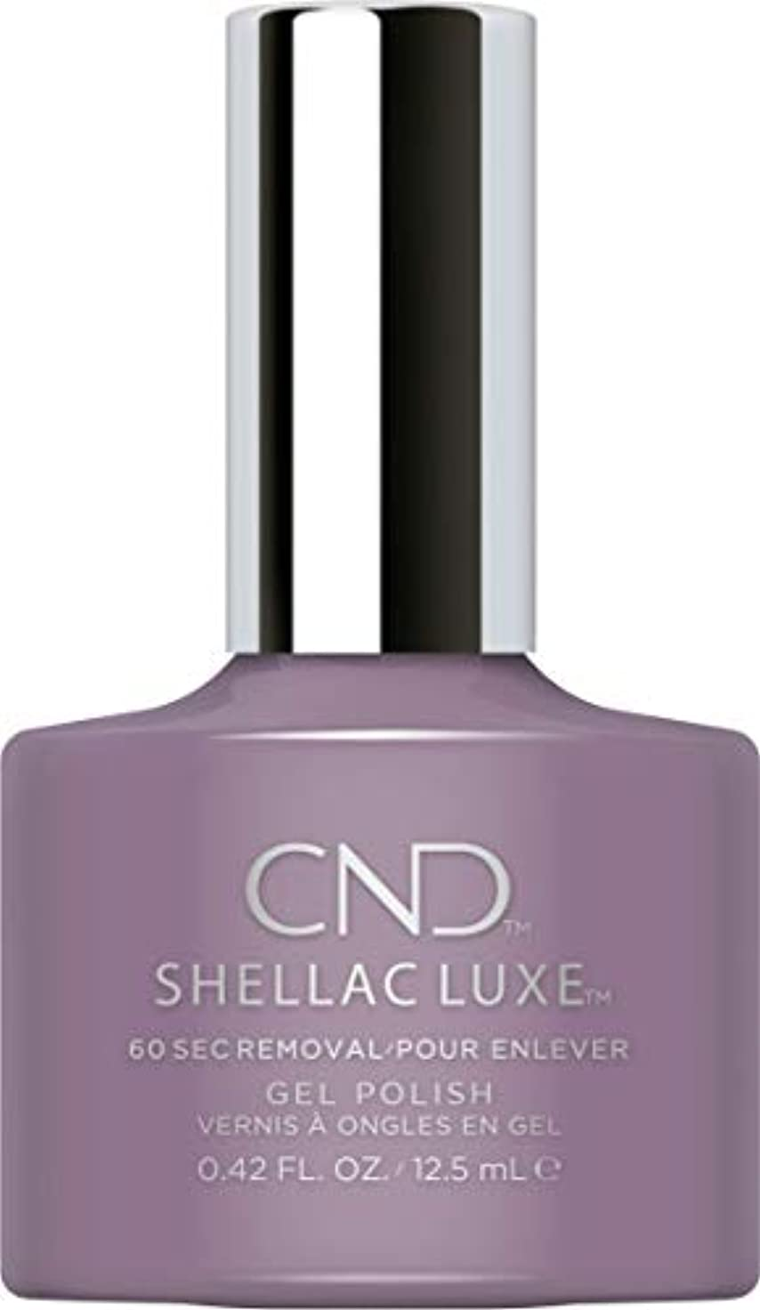 電卓区画散るCND Shellac Luxe - Alpine Plum - 12.5 ml / 0.42 oz