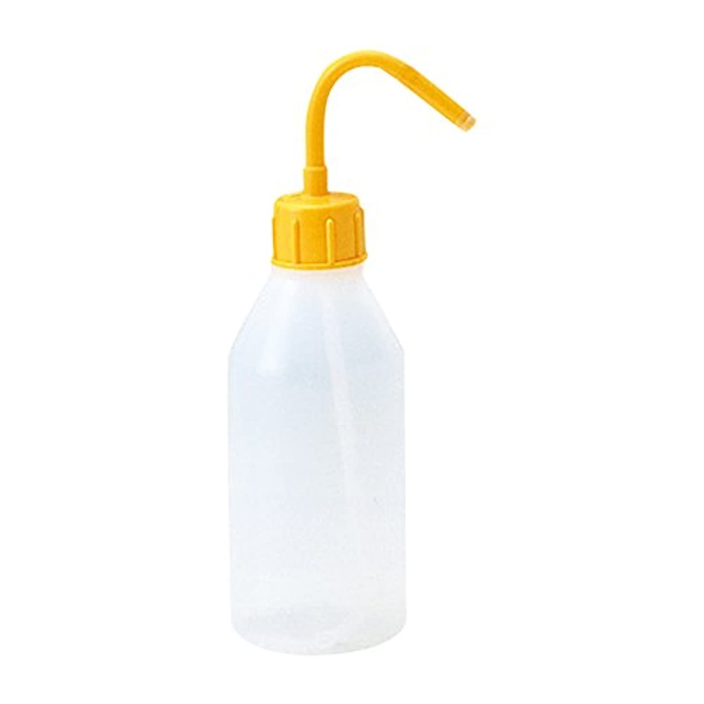 ヒゲ汚れる強化するエアフ゛ラシ用水差 250ml 黄