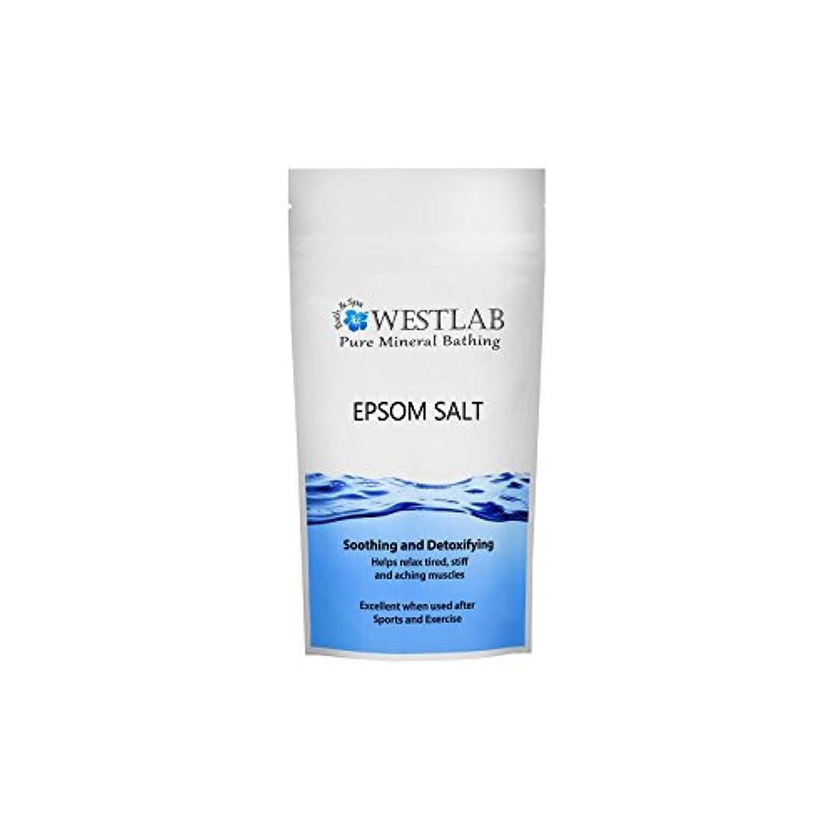バスルーム日の出バドミントンWestlab Epsom Salt 2kg (Pack of 6) - エプソム塩の2キロ x6 [並行輸入品]