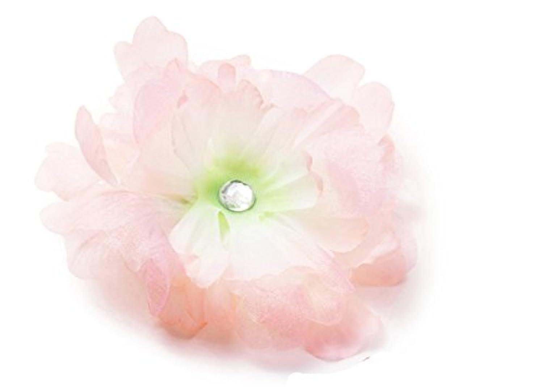 MANDY BIG Sheer Flower Pink