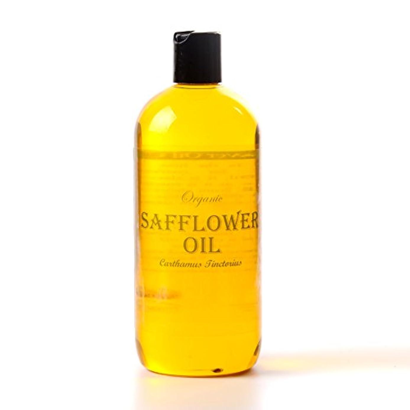植物の以来擬人Mystic Moments | Safflower Organic Carrier Oil - 1 Litre - 100% Pure
