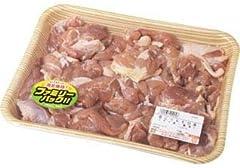 【量り売り商品】タイ産若どりもも切身 約980g(833g-1127g)