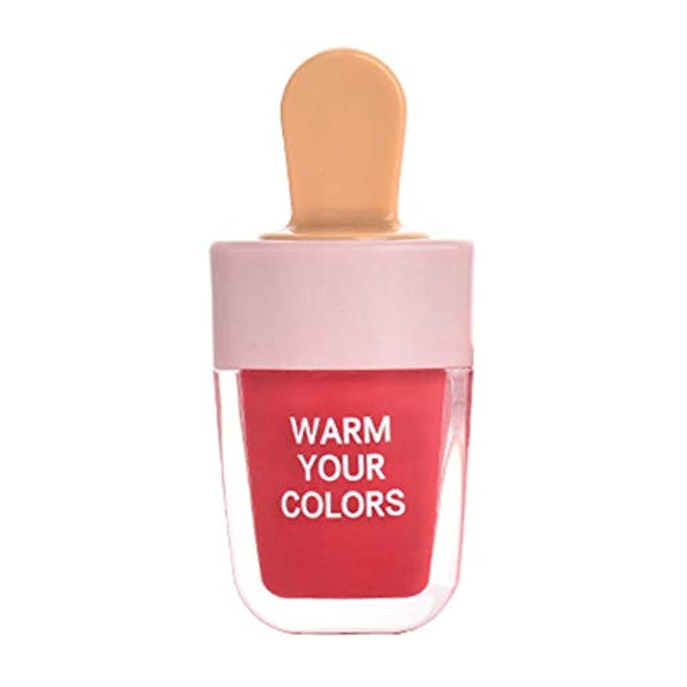 隠す現象バインドRemeeHi 口紅 リップティント アイスクリーム リップスティック リップカラー ラスティング 防水 落ちない メイクアップ メイク道具 化粧品保湿 リップクリーム 韓国風 学生 可愛い