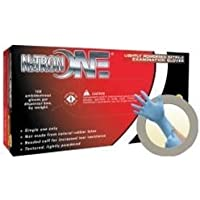 Microflex No-123-M Medium Lightly Powdered Nitrile Industrial Use Only Gloves by Microflex