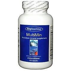 MultiMin マルチミネラル 120カプセル[海外直送品]