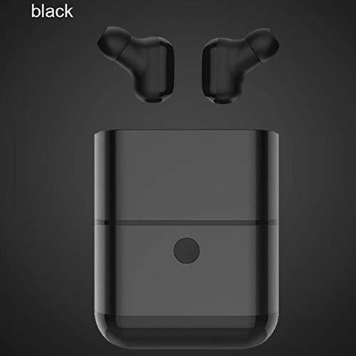linlinlins X2 TwsワイヤレスヘッドフォンBluetooth 5.0ヘッドフォンコードレスヘッドフォンハンズフリー耳栓Odofono Bluetoothヘッドフォンブラック