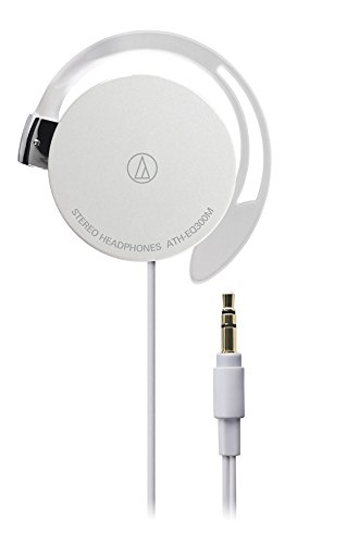 audio-technica オープン型オンイヤーヘッドホン 耳掛け式 ホワイト ATH-EQ300M WH