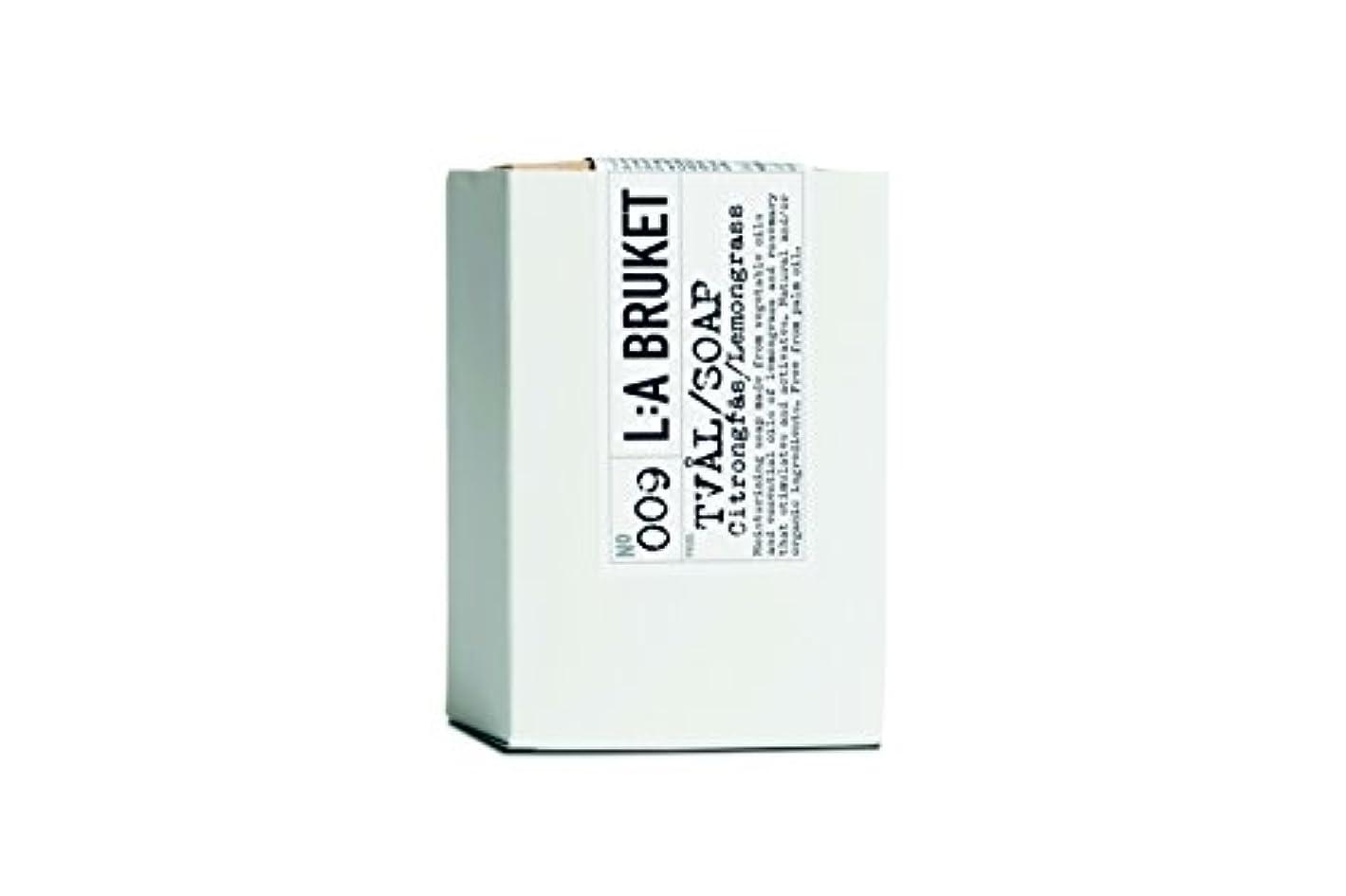 対話コンテンポラリーポーンL:a Bruket (ラ ブルケット) バーソープ (レモングラス) 120g