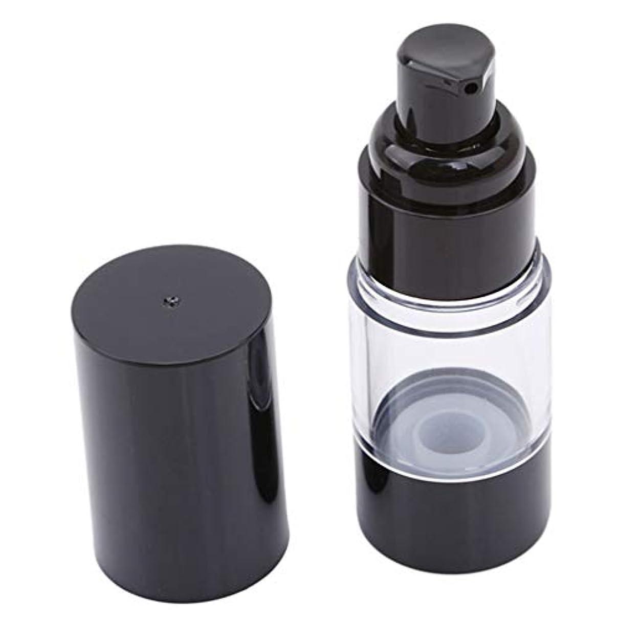 農業熱オリエントLJSLYJ 真空ポンプ化粧品ボトル旅行ポータブルBBクリームファンデーションプレスミニエマルジョンスプレー空のボトル、15ミリリットル