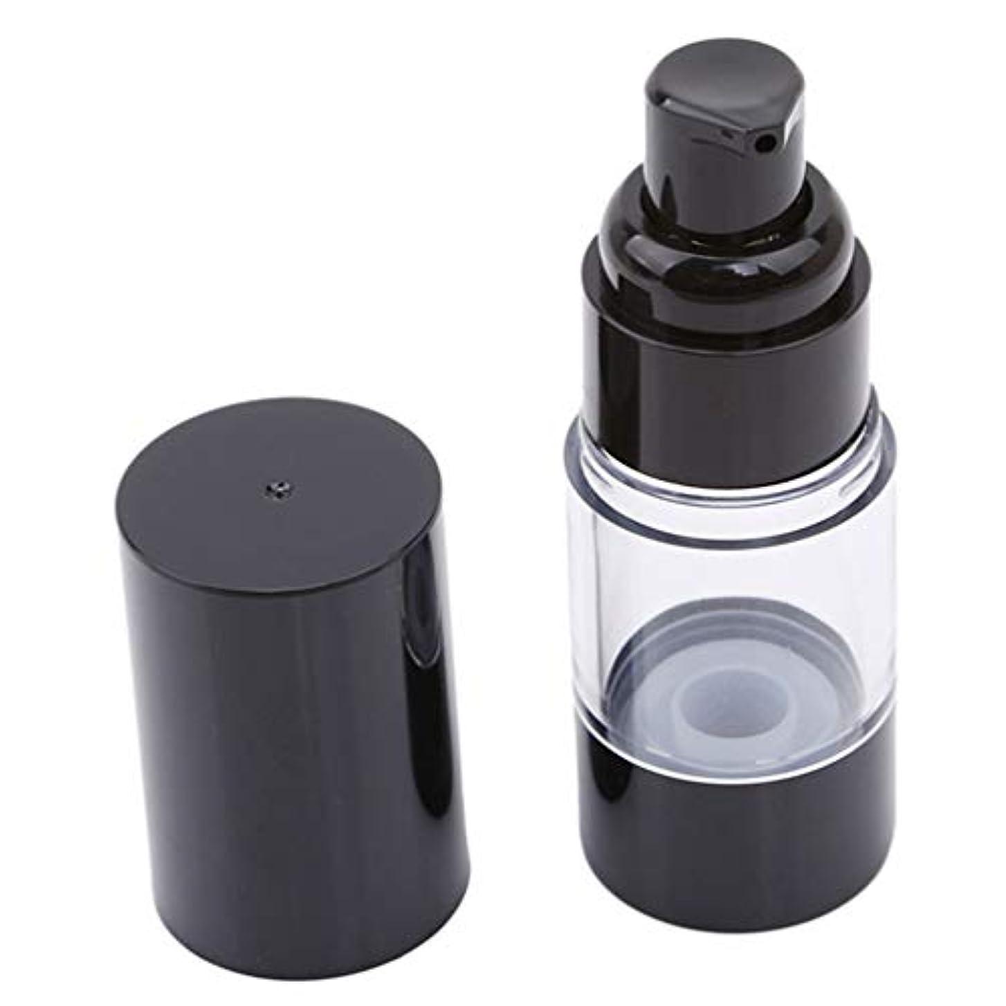 LJSLYJ 真空ポンプ化粧品ボトル旅行ポータブルBBクリームファンデーションプレスミニエマルジョンスプレー空のボトル、15ミリリットル
