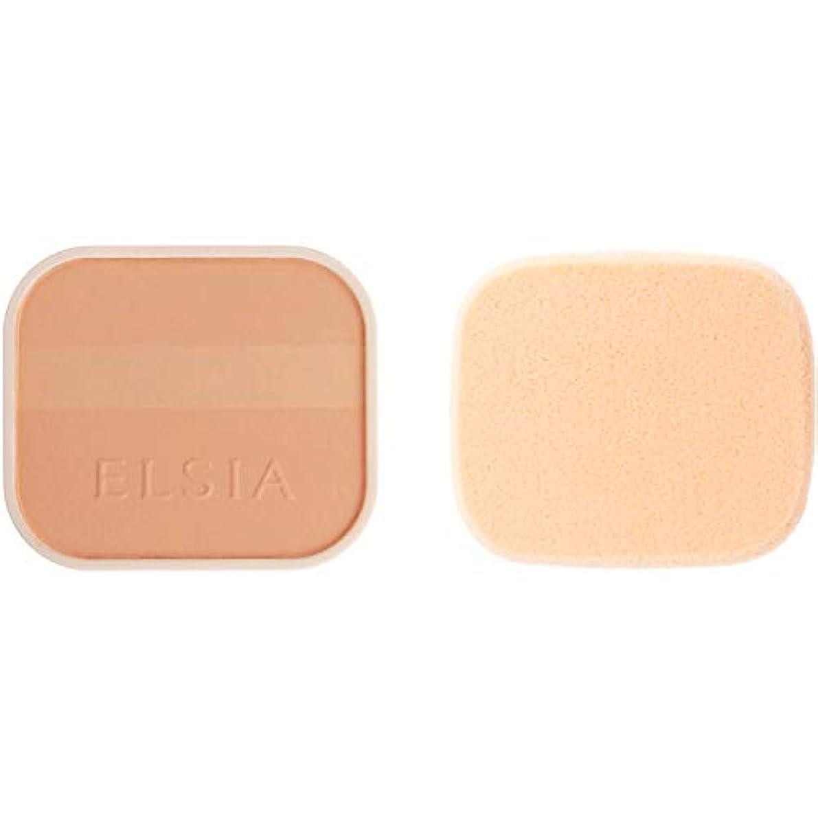 二十透けて見える熟達エルシア プラチナム 明るさアップ ファンデーション(レフィル) ピンクオークル 205 10g