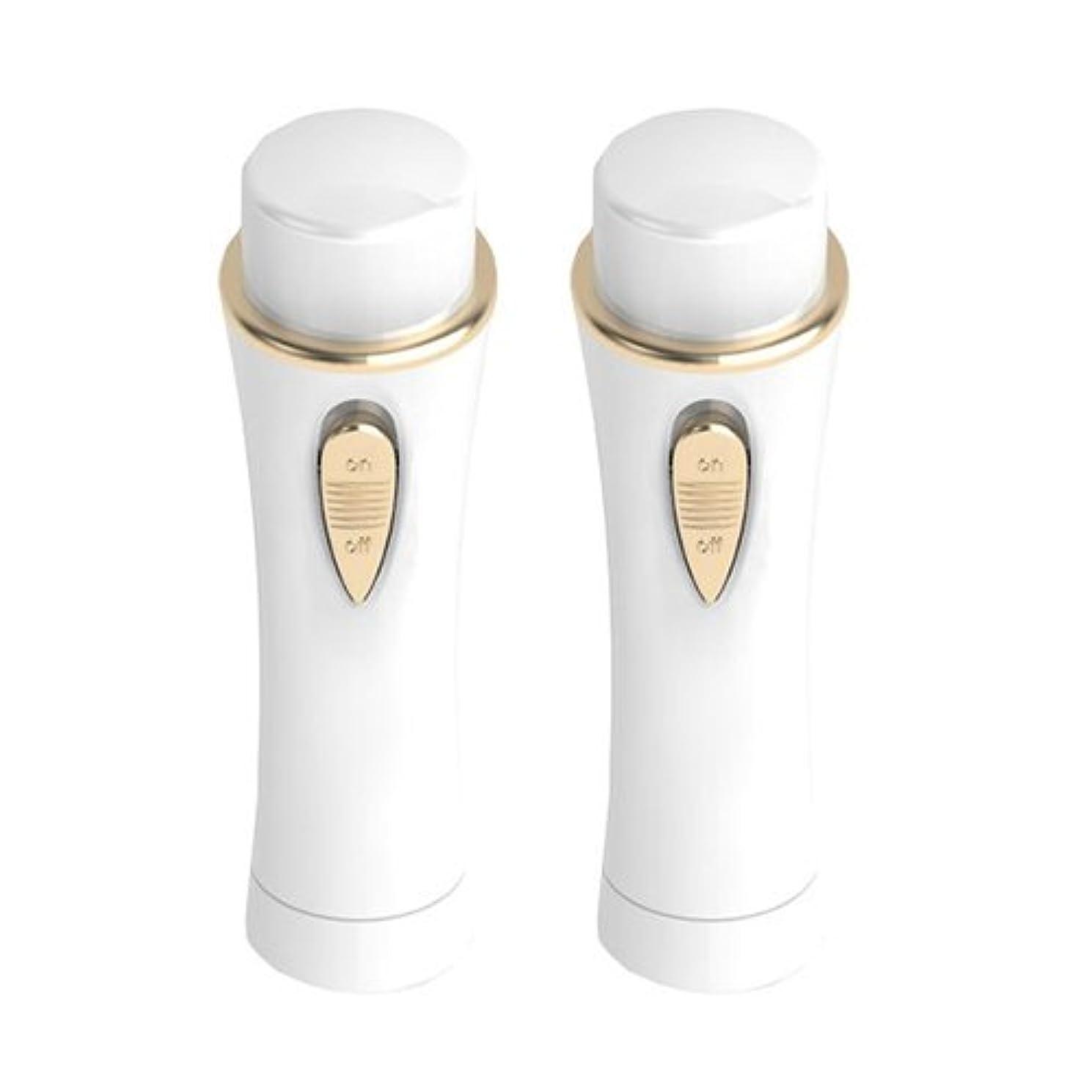 前述の独裁魅惑的なOMNI シェーバー mini ノヘア Light Plus 【同色2本セット】 ホワイト