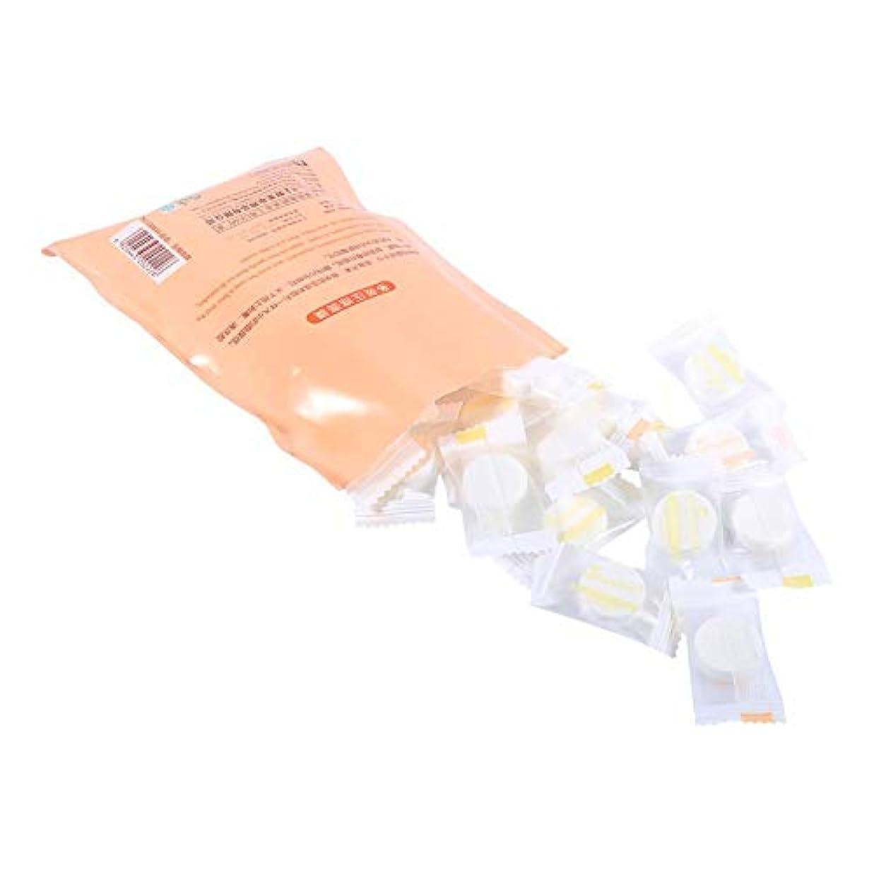 タクシー旅客ネックレス圧縮マスク、60/30/15ピース屋外旅行圧縮綿使い捨てマスクタブレット布ワイプ紙ティッシュフェイスケアdiyフェイシャルペーパーマスク(30個)