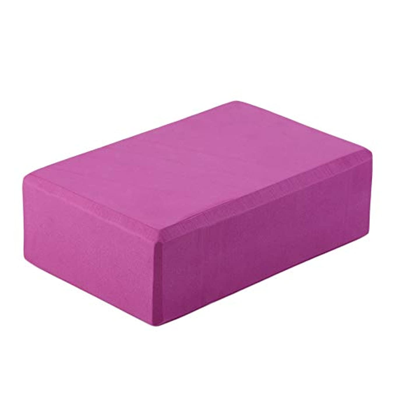 サロン吸収するマニアホームエクササイズツール良い材料EVAヨガブロックレンガ泡スポーツ用具