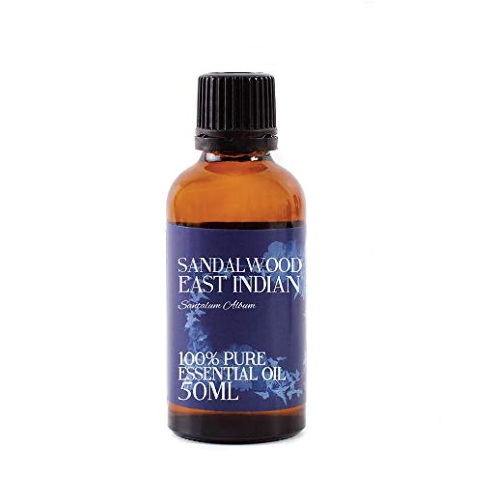 イソギンチャク事業ブロッサムMystic Moments   Sandalwood East Indian Essential Oil - 50ml - 100% Pure