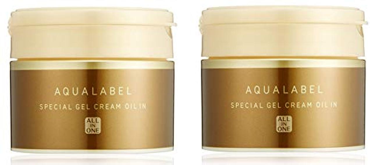 【まとめ買い】アクアレーベル スペシャルジェルクリーム (オイルイン) エイジングケアタイプオールインワン 90g×2個