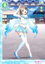 ラブライブ スクールアイドルコレクション キラキラカード&クリアホルダーセット Part1/ 渡辺曜 (SR) / EX04-005