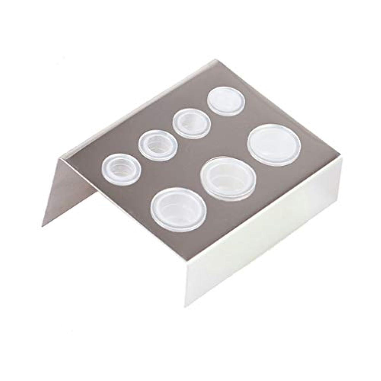 終わった凍る以前はHonel タトゥー インクカップ ホルダー 収納ラック 顔料 カップホルダー 耐久性ある インクカップホルダー タトゥーアクセサリー