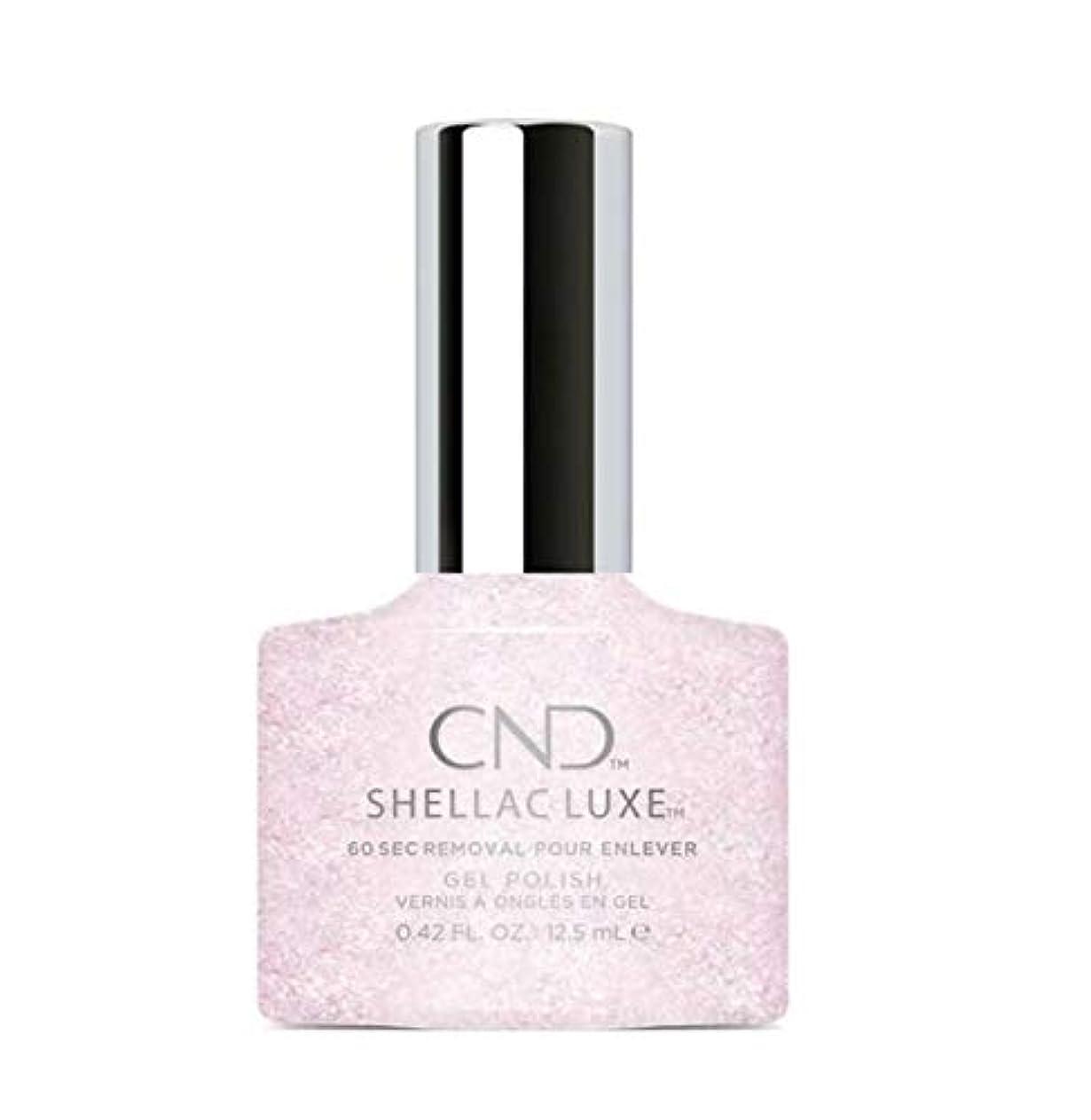 とブラウン子音CND Shellac Luxe - Ice Bar - 12.5 ml / 0.42 oz
