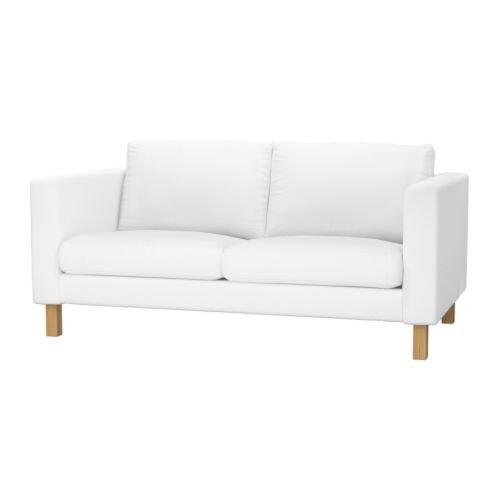 IKEA(イケア) KARLSTAD 2人掛けソファ ブレキンゲ ホワイト
