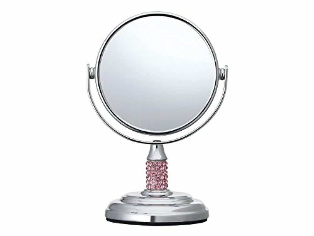 浸透する崇拝するメッセージコイズミ 拡大鏡 サイズφ75mm ピンク KBE-3051/P