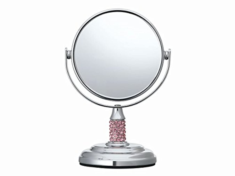 羊飼いぶどう乳製品コイズミ 拡大鏡 サイズφ75mm ピンク KBE-3051/P